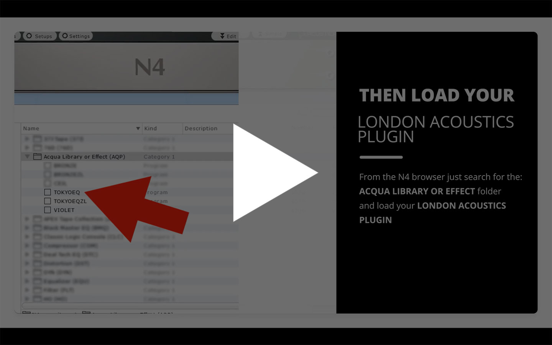 London Acoustics Plugin Installation Video