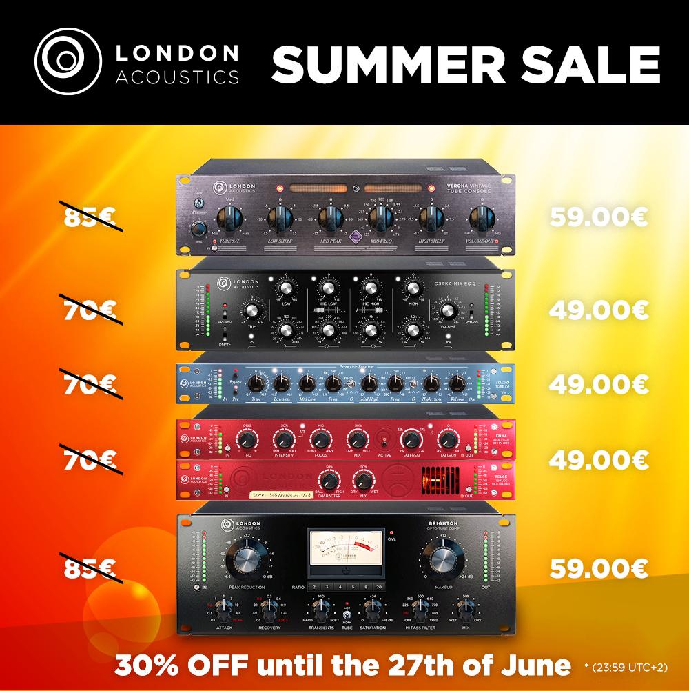 London Acoustics Summer Sale 2021